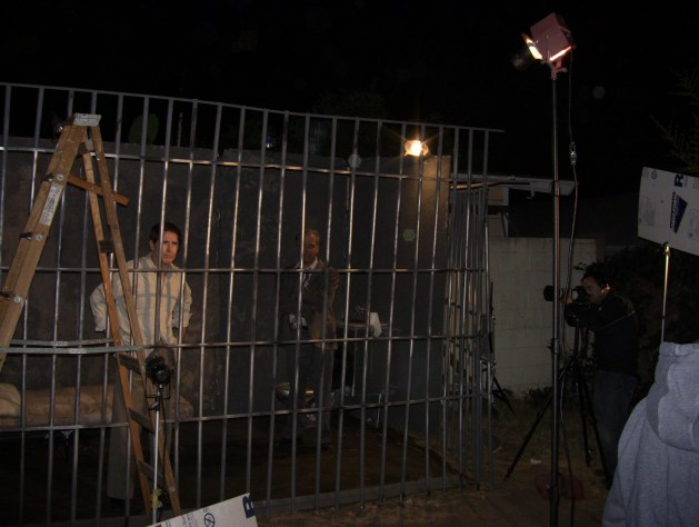 jail wide shot behind scenes