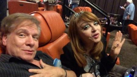 Filmmaker Mark Pirro and comedian Judy Tenuta at Sharknado 3 premiere