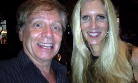 Director Mark Pirro with Ann Coulter