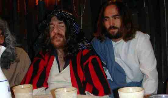 Jesus and Judas in pirromount's God Complex.