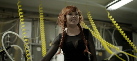 Pirromount actress Stef Dawson in TV series