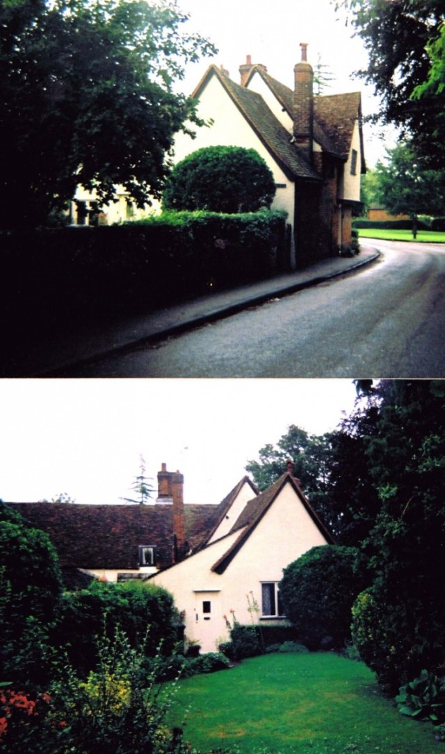 The Cottage before the extension.