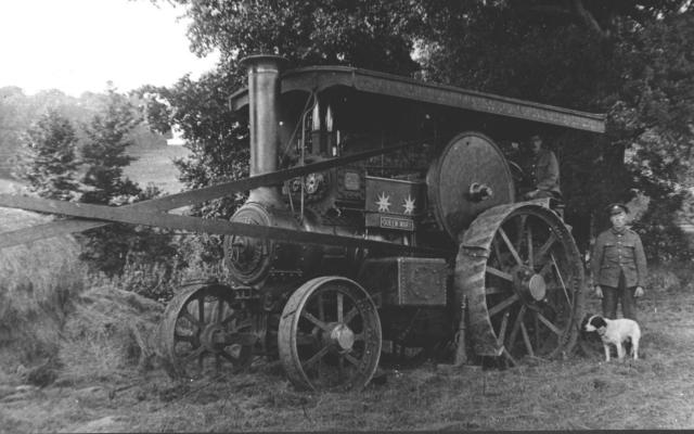 A Pirton traction engine