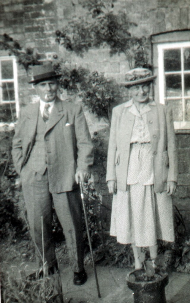 "Fred ""Ted"" Titmuss and his wife Ruth in later years."