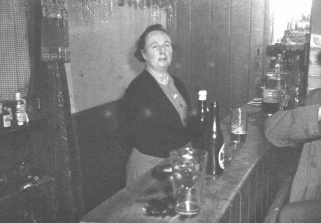 May Cook at the bar of the Fox