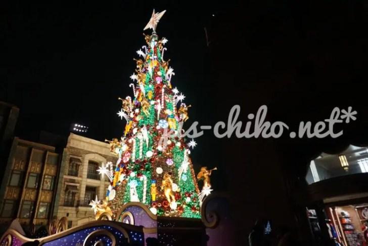 USJクリスマスツリー
