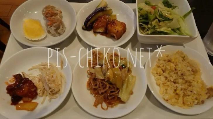 中華バイキングで食べた物