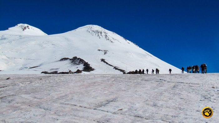 Subida do Monte Elbrus, na Rússia