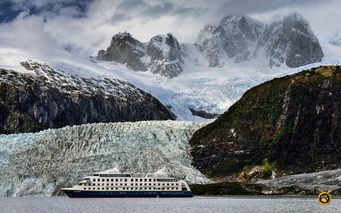 navegação na patagônia