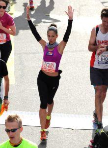 Pisada en la meta de mi segundo maratón - New York 2013