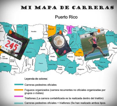 Mapa de carreras