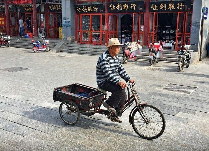 Bicicleta de transporte