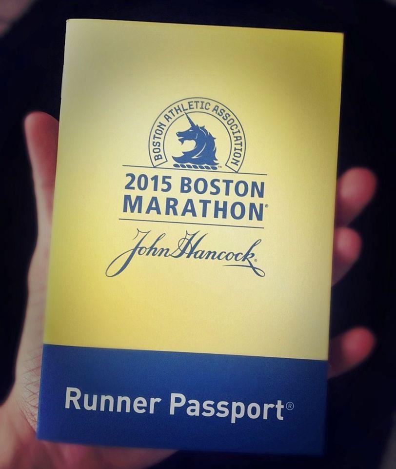 pasaporte Maratón Boston