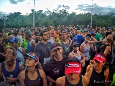 Salida Medio Maratón San Blás 2018