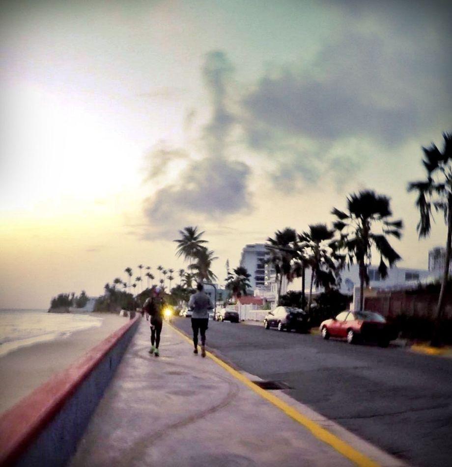 Running Punta Las Marías