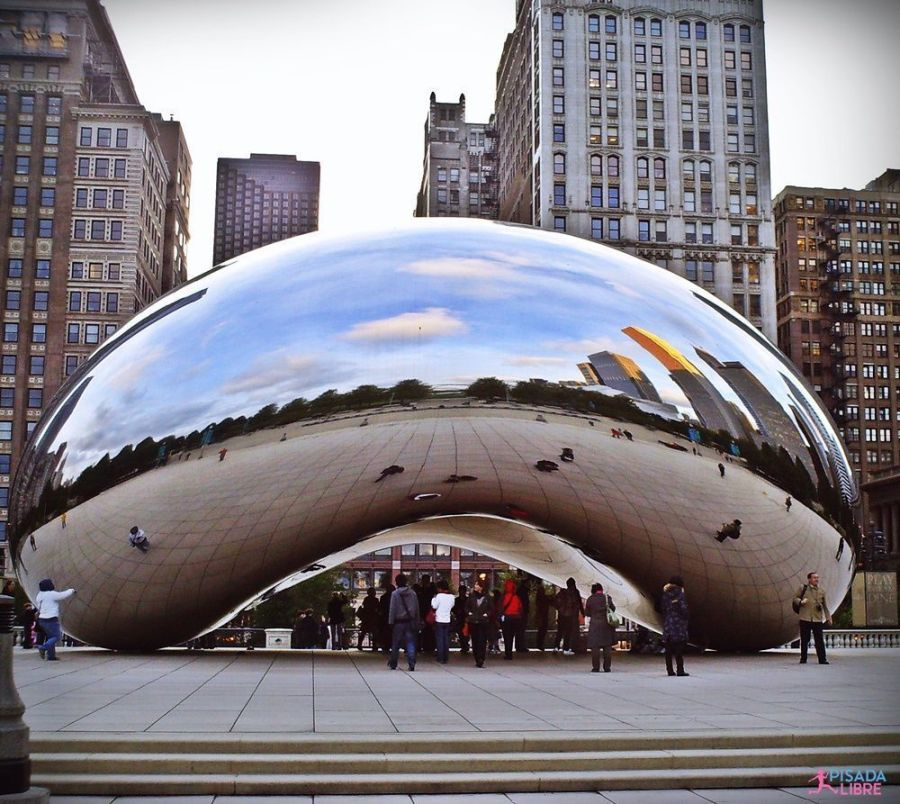 Chicago bean Turisteando