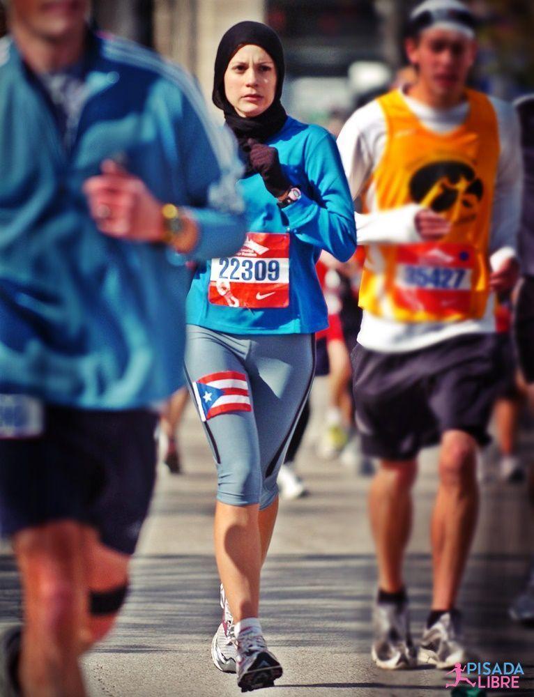 Chicago Marathon cold