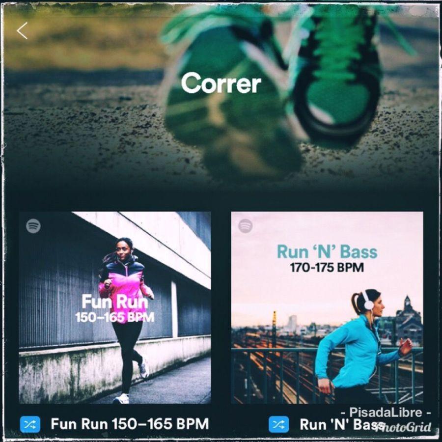 """Playlists"" para correr"
