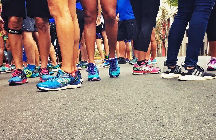 El tiempo de correr incluye otros factores sociales también.