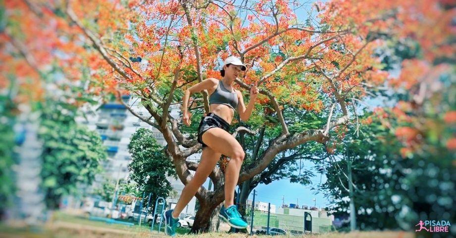 Maña al correr con calor
