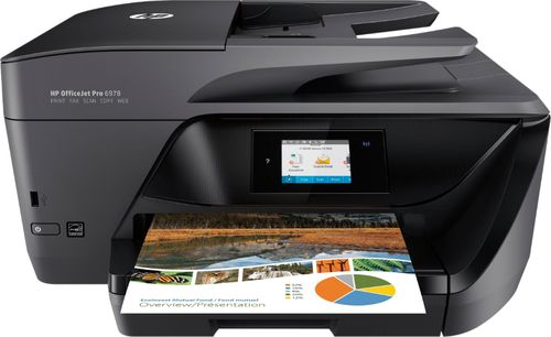 HP - OfficeJet Pro 6978 Wireless All-In-One Instant Ink Ready Printer - Black