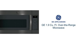 ge 1 9 cu ft over the range microwave with sensor cooking stainless steel