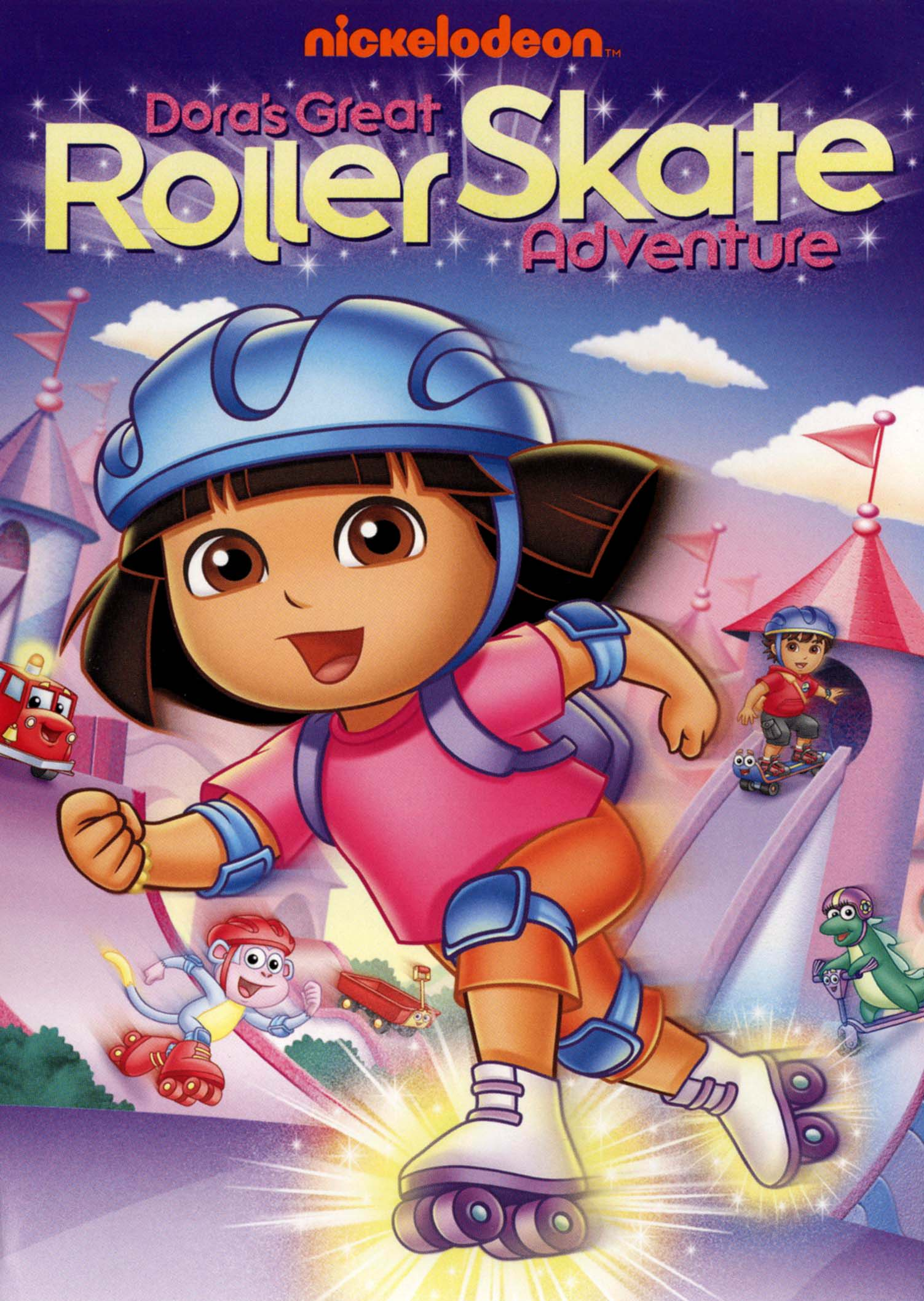Dora The Explorer Dora S Great Roller Skate Adventure