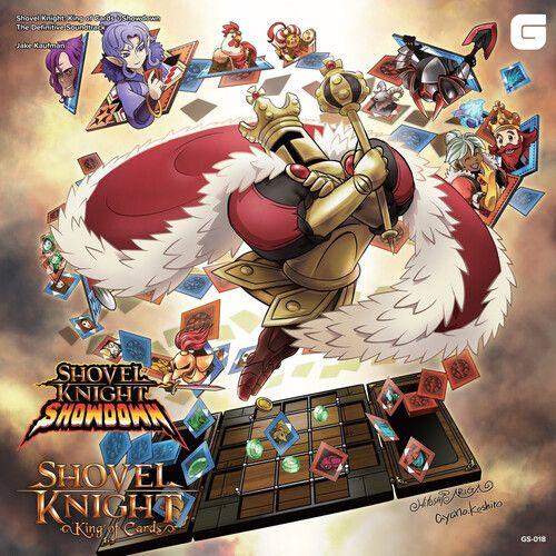 shovel knight king of cards showdown the definitive soundtrack lp vinyl