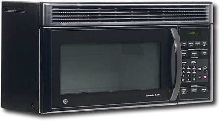 ge spacemaker microwave black jvm1440bd