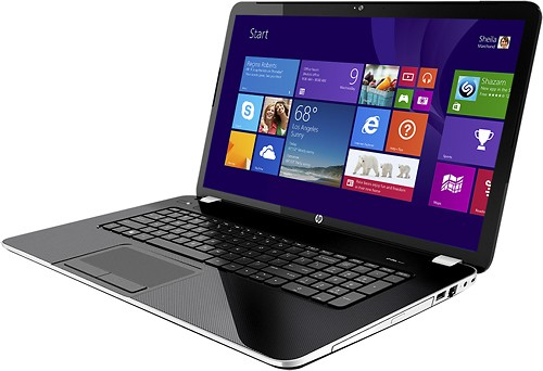 "HP - Pavilion 17.3"" Laptop - 4GB Memory - 750GB Hard Drive - Anodized Silver - Alternate View 2"