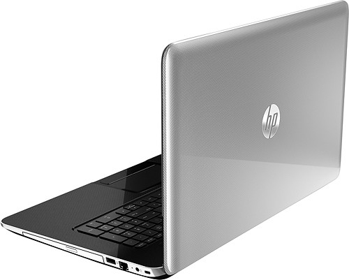 "HP - Pavilion 17.3"" Laptop - 4GB Memory - 750GB Hard Drive - Anodized Silver - Alternate View 3"