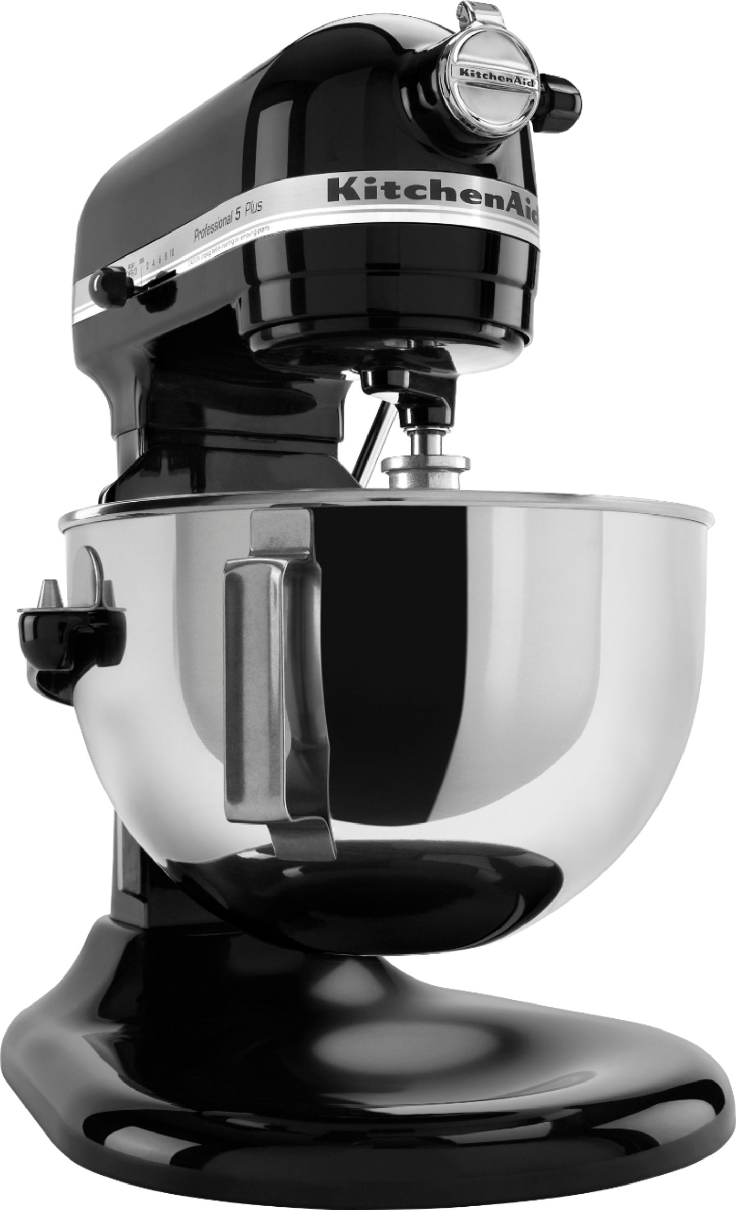 KitchenAid - Professional 5 Plus Series Stand Mixer - Onyx Black - Angle Zoom