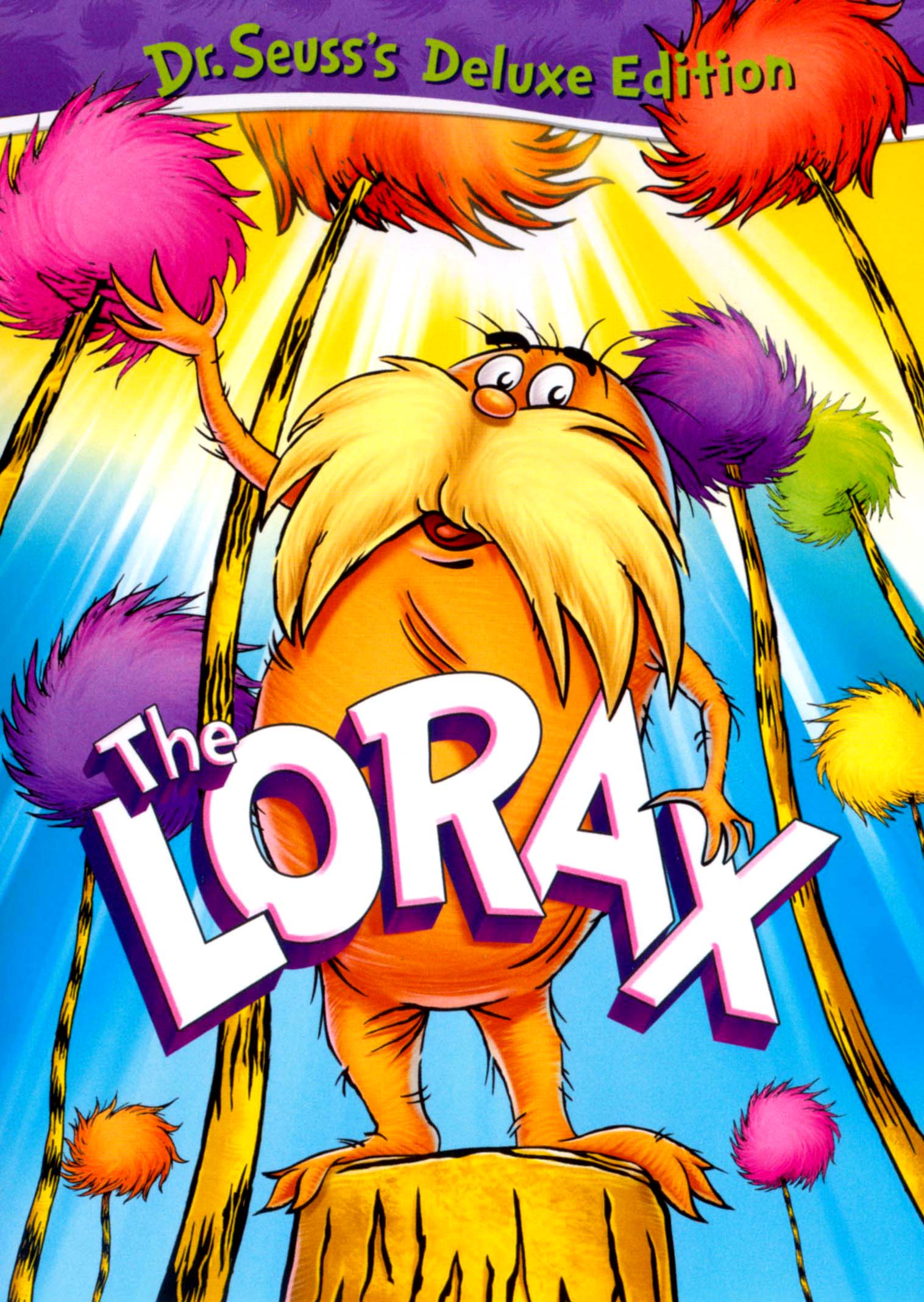 Dr Seuss The Lorax Deluxe Edition Dvd