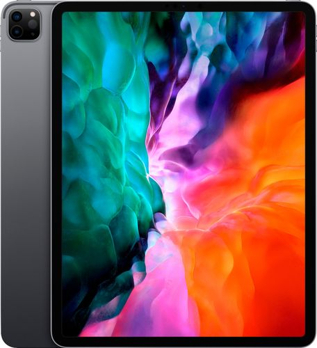 Apple - 12.9-Inch iPad Pro (4th Generation) with Wi-Fi + Cellular - 128GB (Unlocked) - Space Gray
