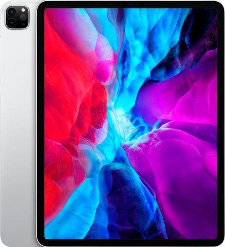 Apple - 12.9-Inch iPad Pro (4th Generation) with Wi-Fi + Cellular - 128GB (Unlocked) - Silver