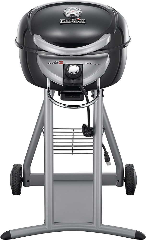 char broil patio bistro electric grill gloss black