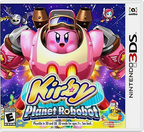 Kirby: Planet Robobot - Nintendo 3DS - Larger Front