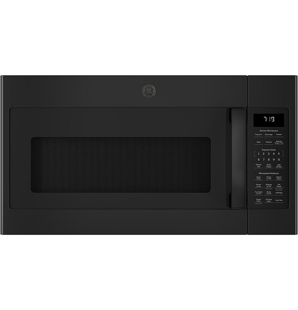 ge 1 9 cu ft over the range microwave black