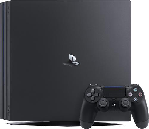 Sony PlayStation 4 Pro Console Black 3002470 Best Buy