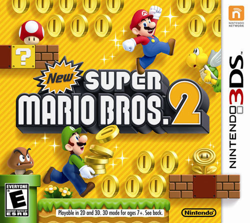 New Super Mario Bros. 2 - Nintendo 3DS - Larger Front