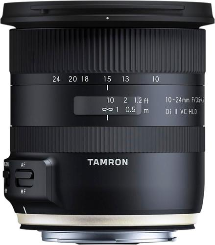 Tamron - 10-24mm F/3.5-4.5 Di II VC HLD Ultrawide Zoom Lens for Canon - Black