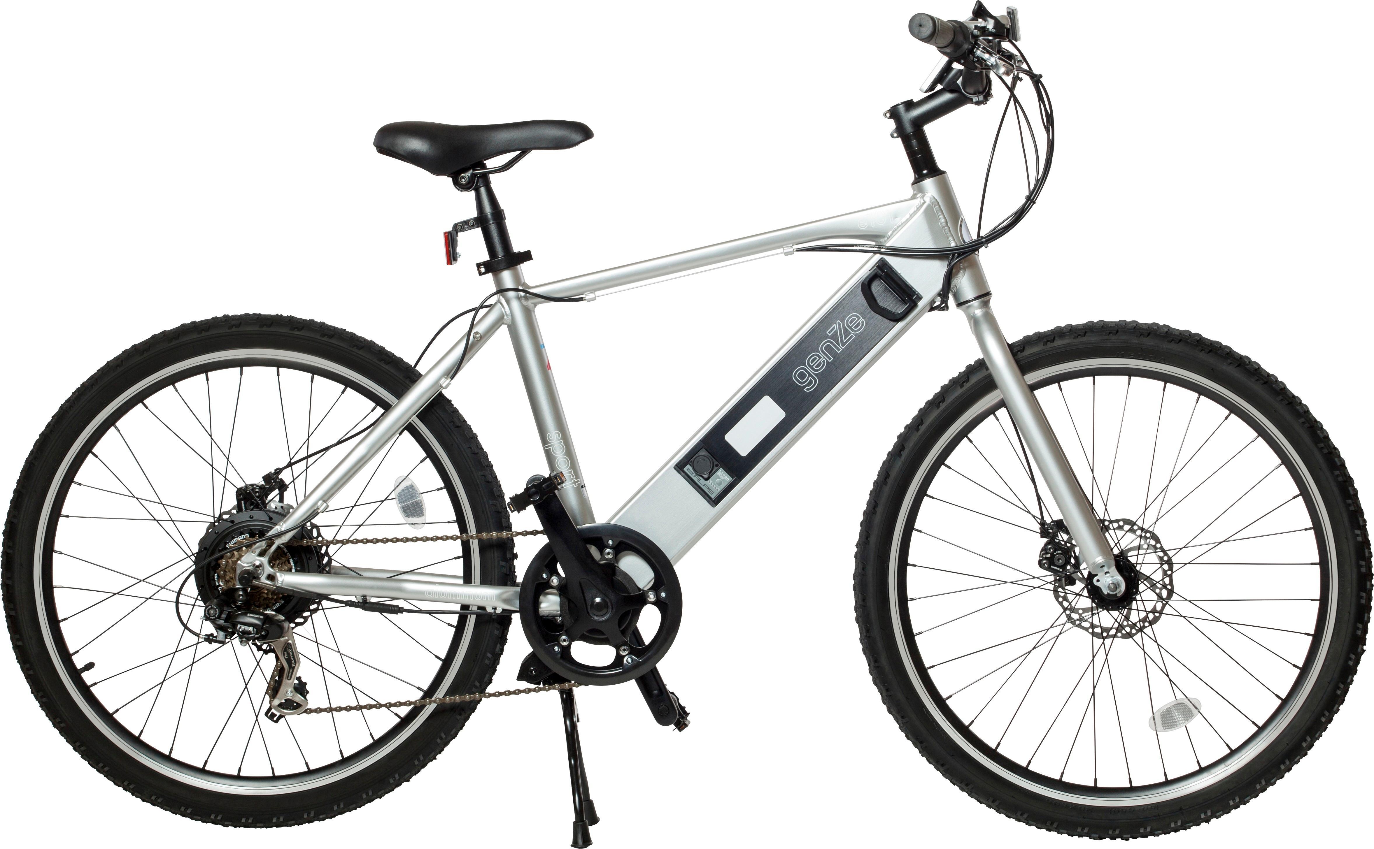 Best Buy Genze E101 Sport Electric Bike Silver 18 101 Sil