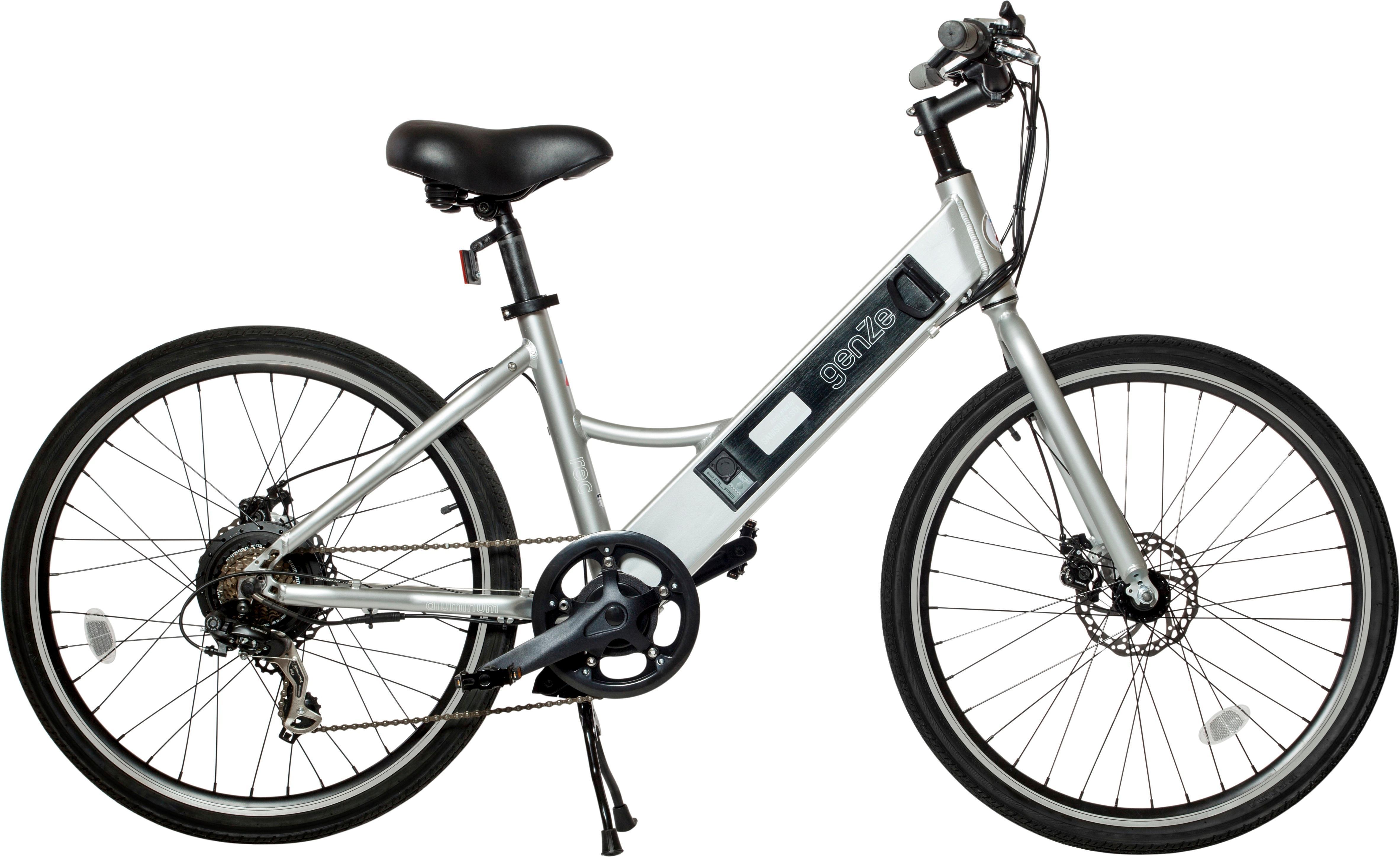 Best Buy Genze E102 Rec Riser Electric Bike Silver 16 102