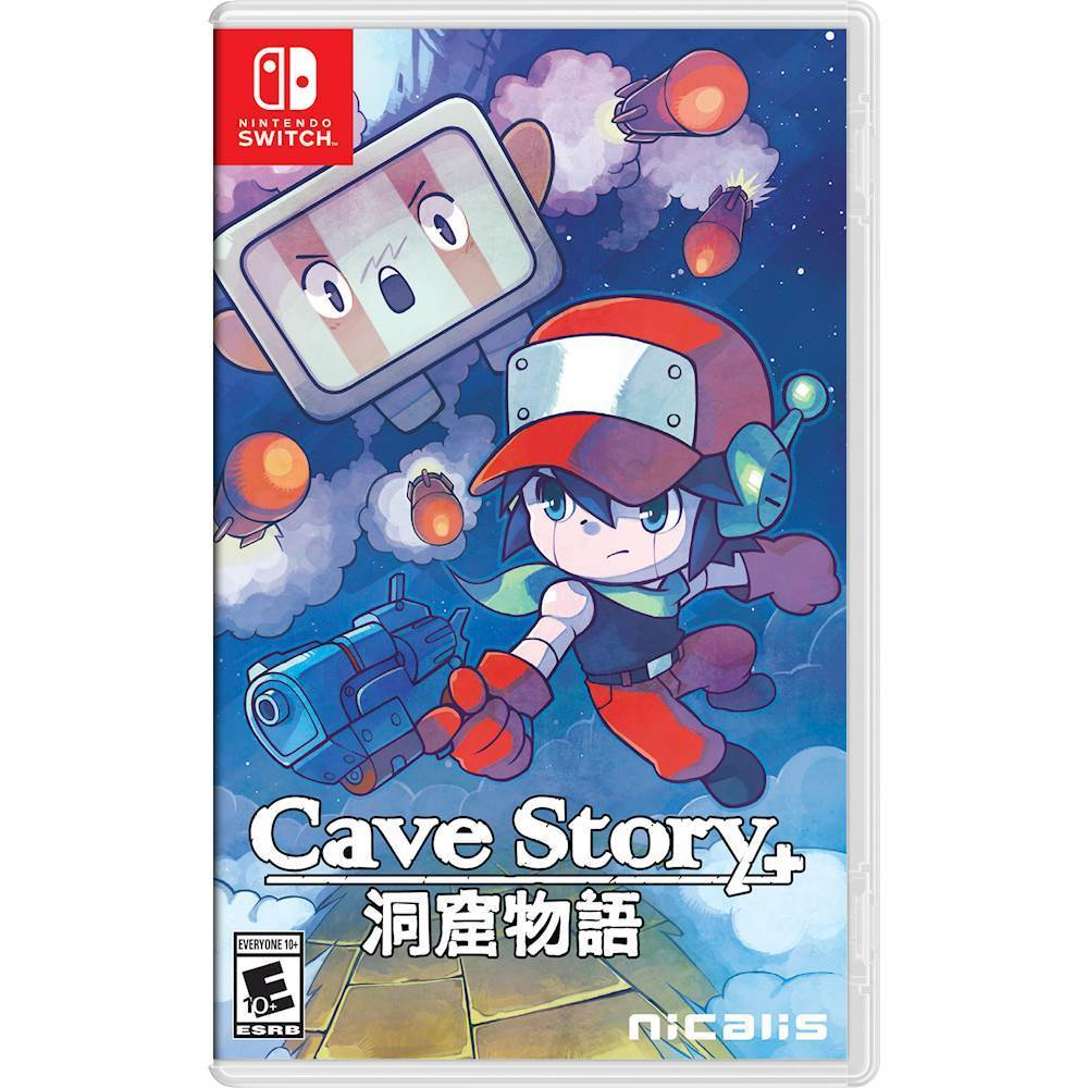 Cave Story+ - Nintendo Switch - Front Zoom