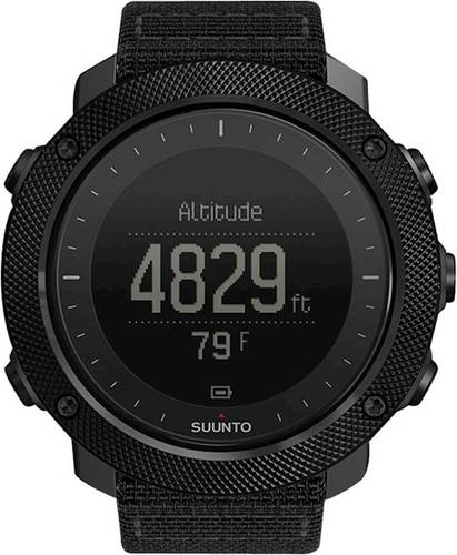 Suunto - Traverse Alpha GPS Watch - Stealth
