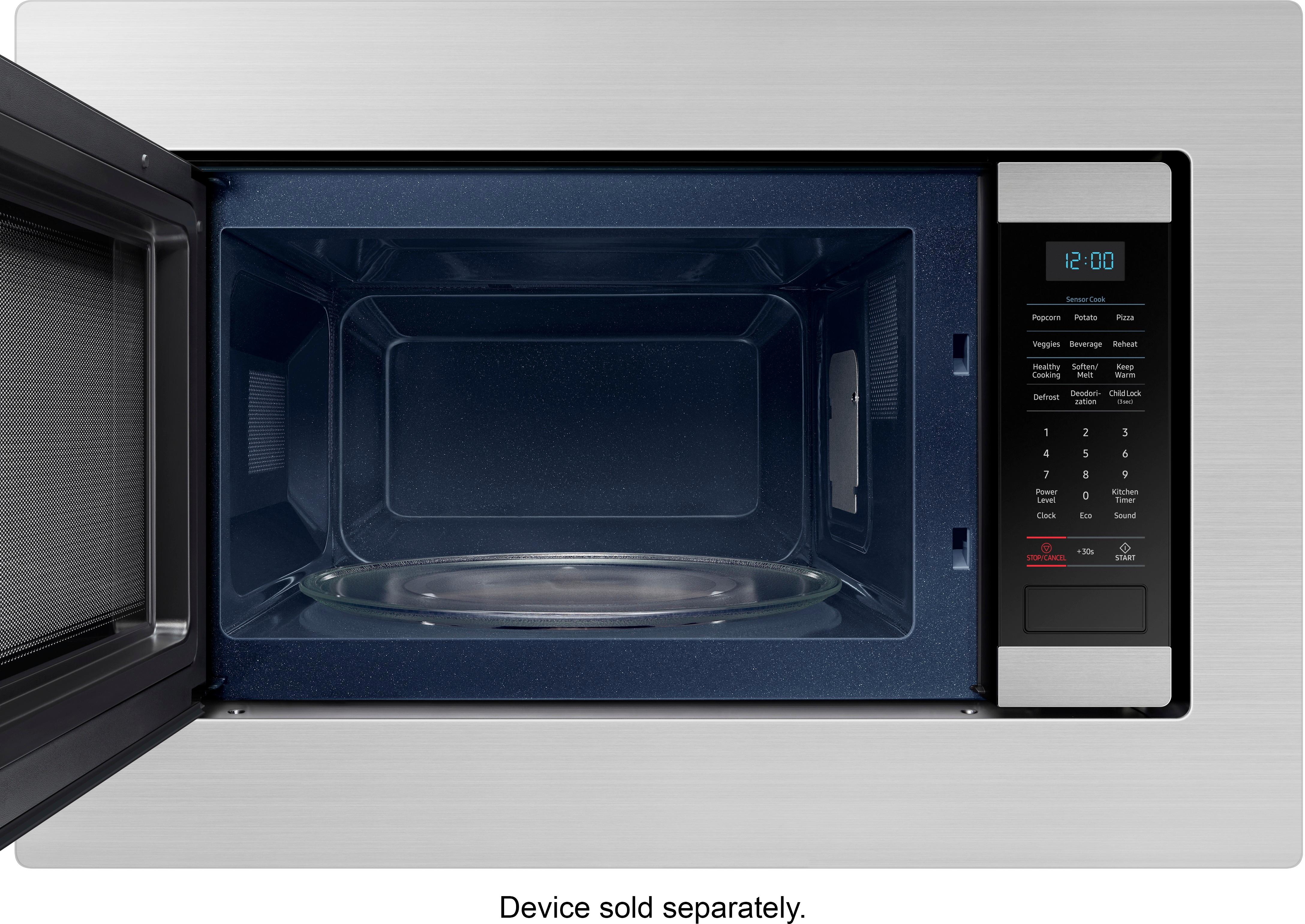 30 trim kit for samsung ms19m8000as microwave stainless steel