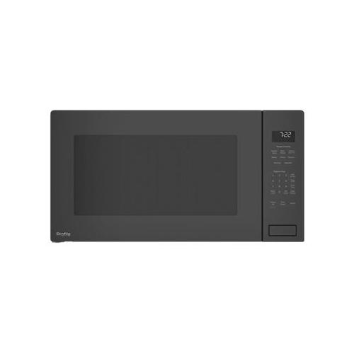ge profile 2 2 cu ft built in microwave black stainless steel