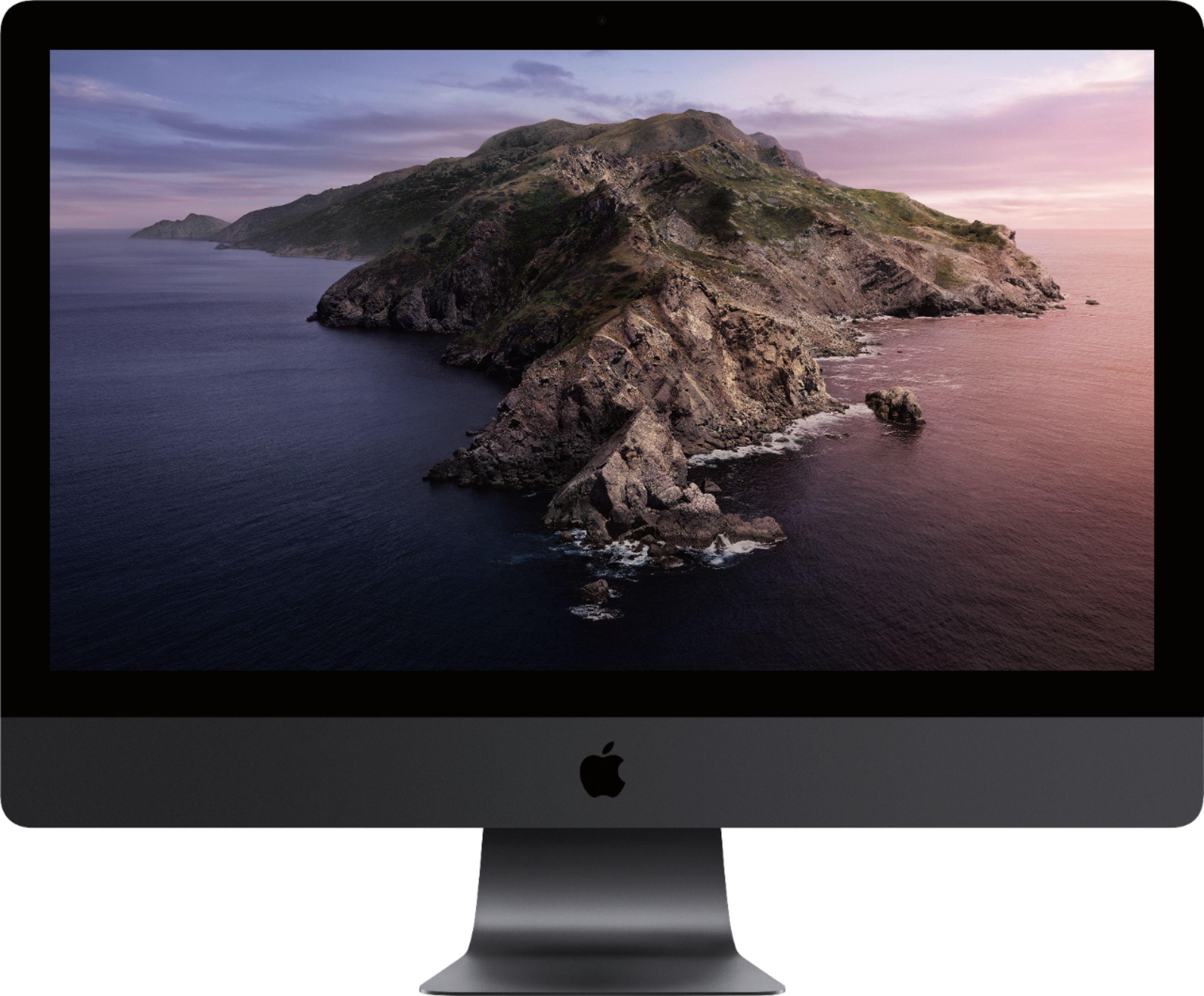 Apple 27 IMac Pro With Retina 5K Display Intel Xeon W 32GB Memory 1TB Solid State Drive Black