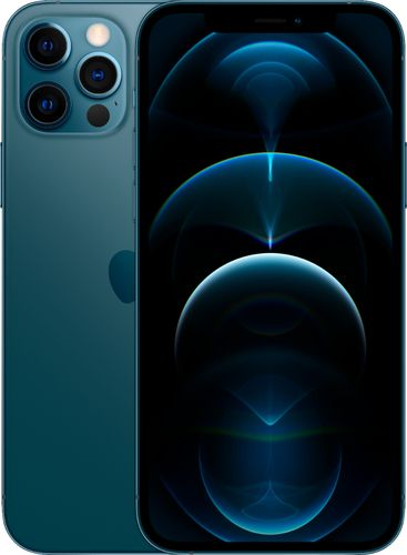 Apple - iPhone 12 Pro 5G 128GB - Pacific Blue (AT&T)