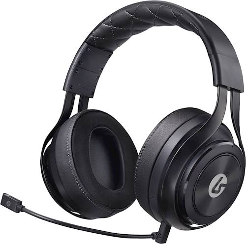 LucidSound - LS35X Wireless Surround Sound Over-the-Ear Gaming Headset for Xbox One, Windows 10 PCs and Select Mobile Devices - Black